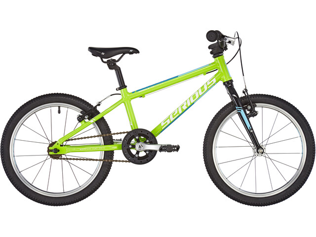 "Serious Superlite Børnecykel 18"" grøn"